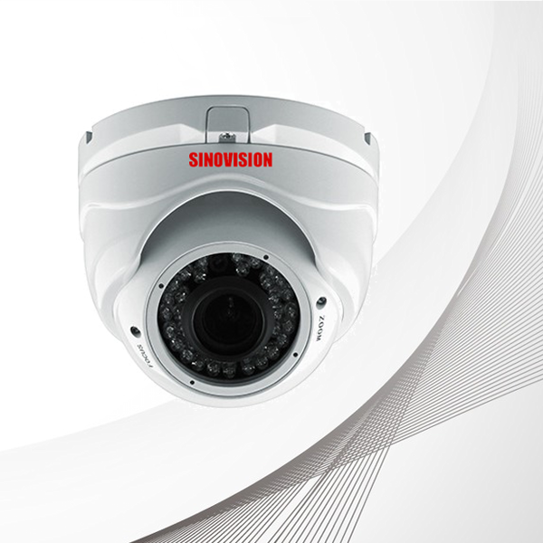 Sinovision TVI 1080P Varifocal lens Vandalproof Dome Camera