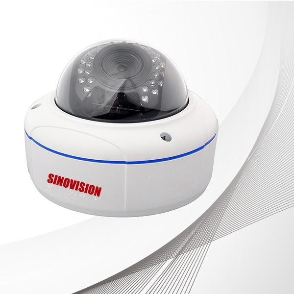 Sinovision TVI 1080P Varifocal IR Vandalproof Dome Camera