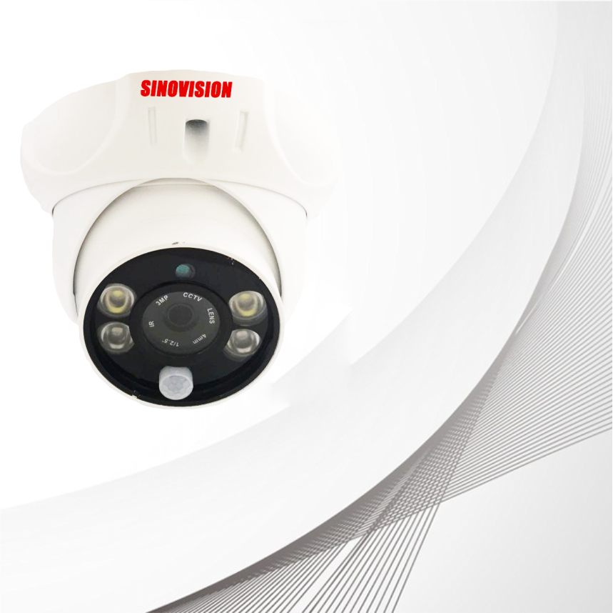 Sinovision HD PIR Alarm Dome Camera