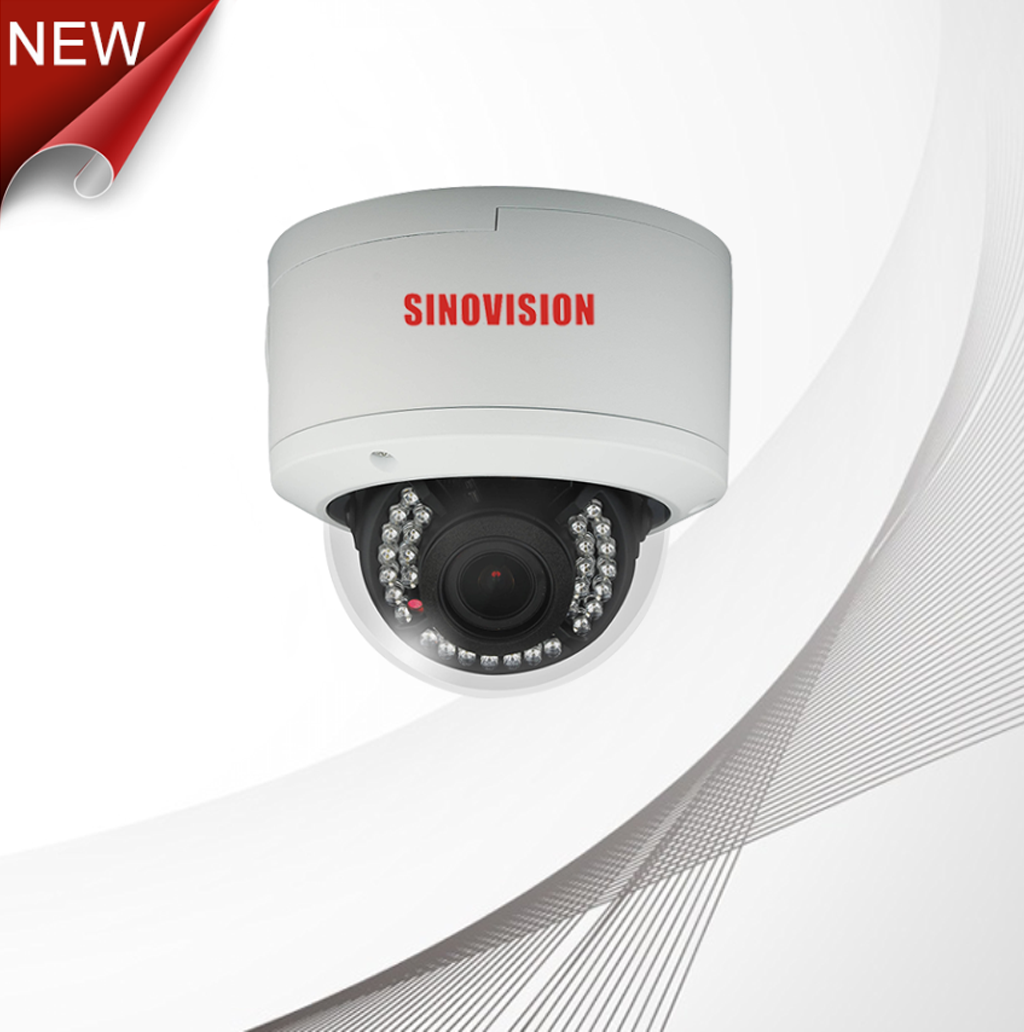 Sinovision 5.0MP IP Network Vandalproof Dome Camera