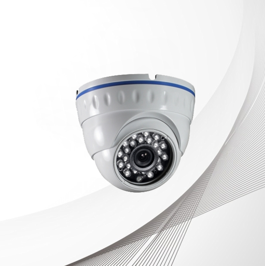 Sinovision HD 5.0MP Fixed Lens Metal Dome Camera