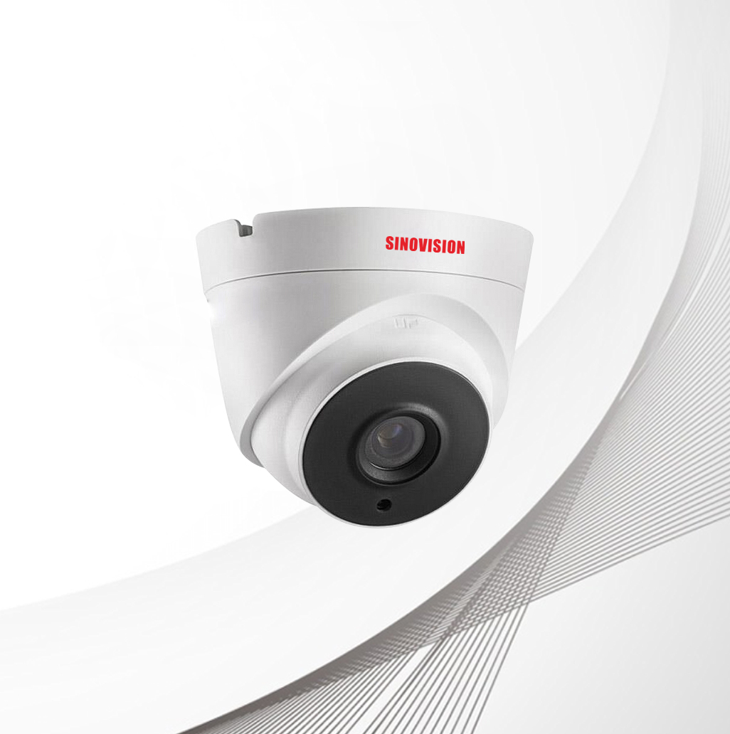 Sinovision HD 4.0MP Fixed Lens Metal Dome Camera