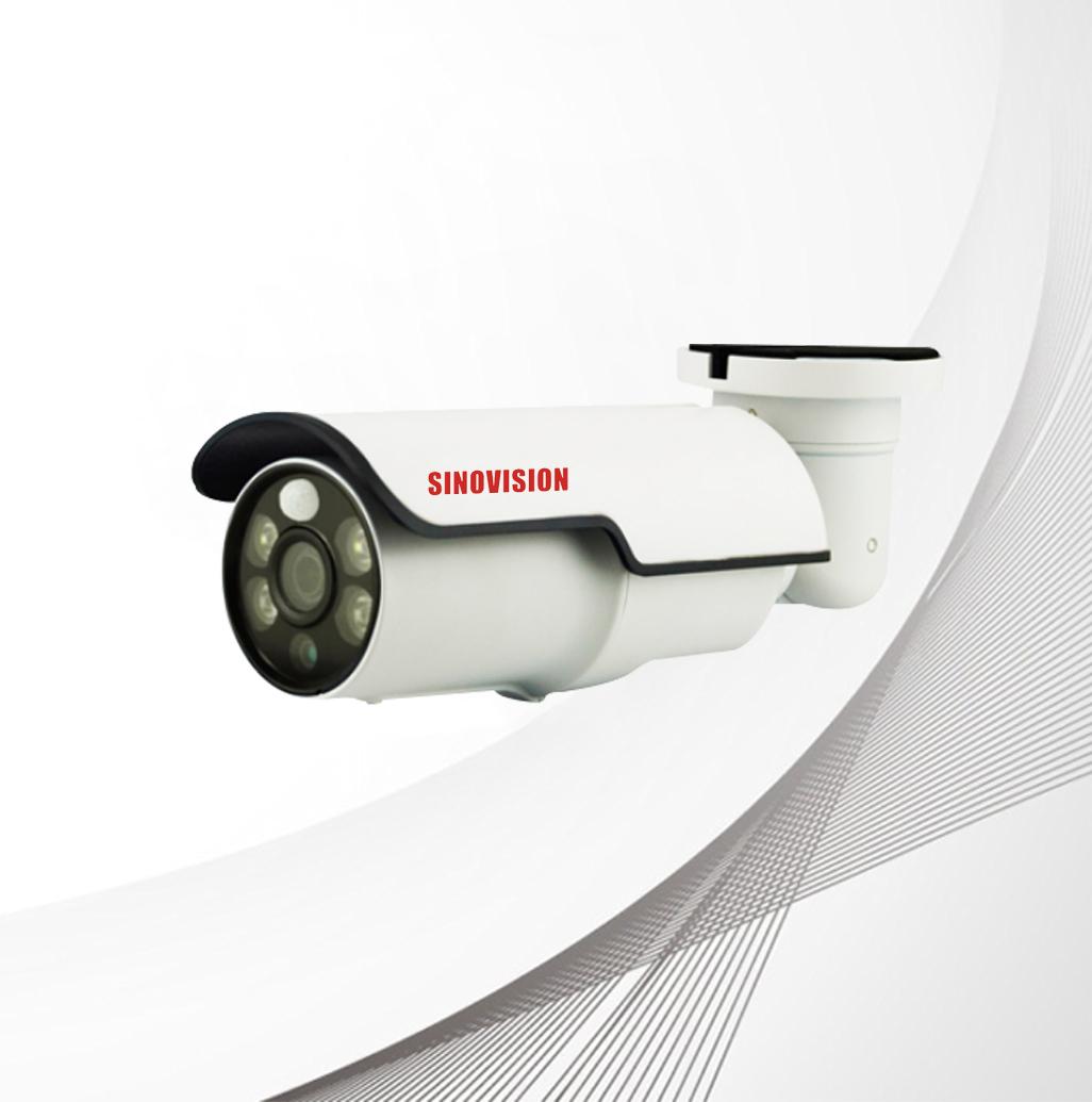 Sinovision 5.0MP IP Cam Built-in Varifocal Lens PIR Sensor