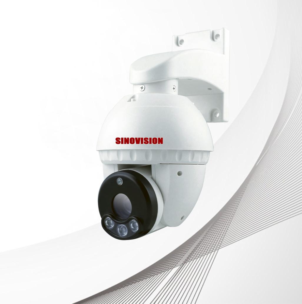 Sinovision 4 IN 1 PTZ Speed Dome Plastic Camera