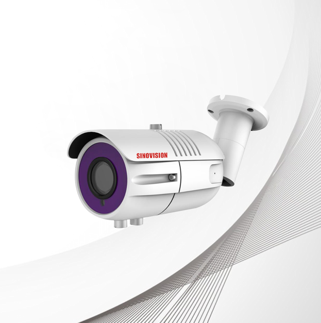 Sinovision 2.0MP Motorized Zoom Lens HD Bullet Camera