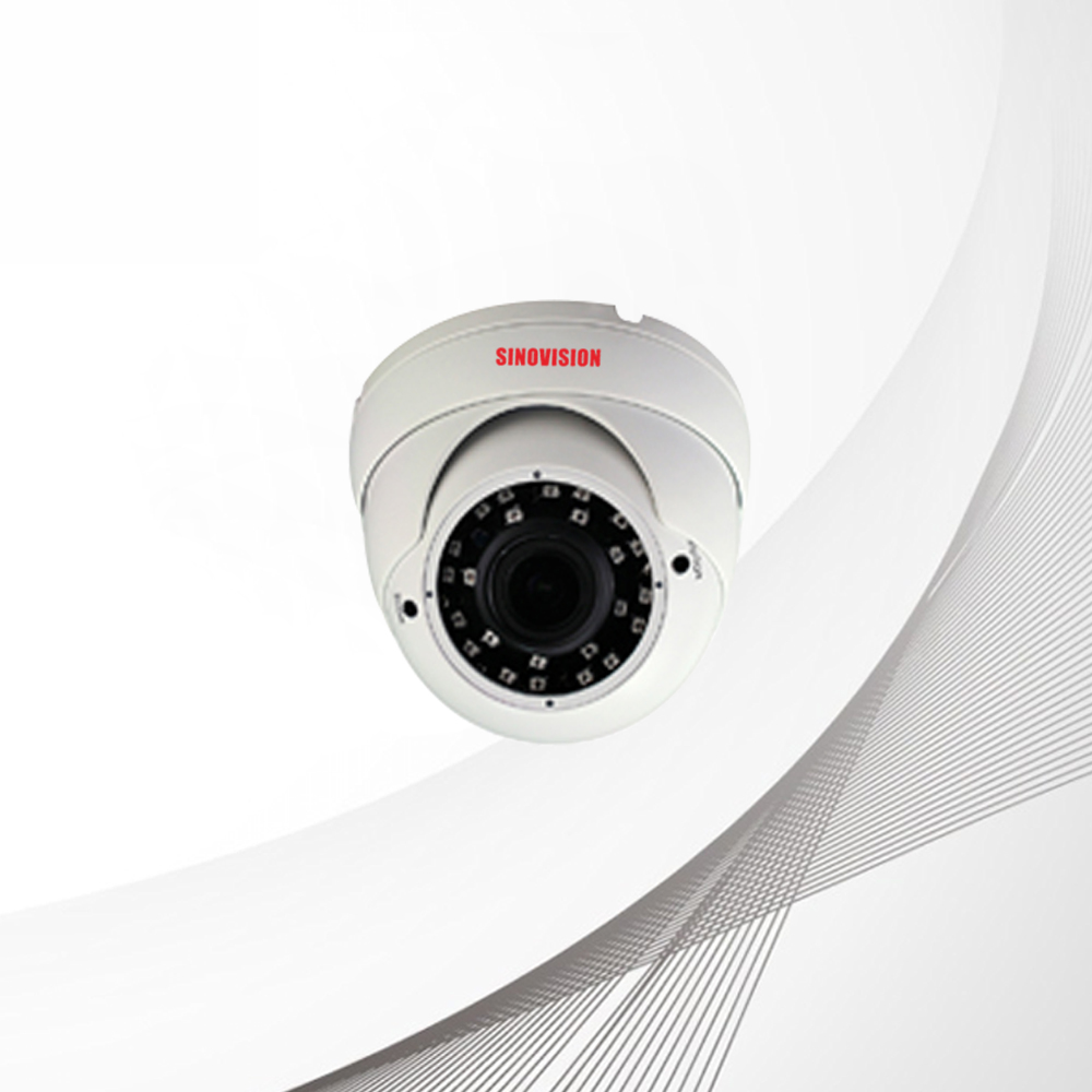 Sinovision HD 5.0MP Varifocal Lens Metal Dome Camera