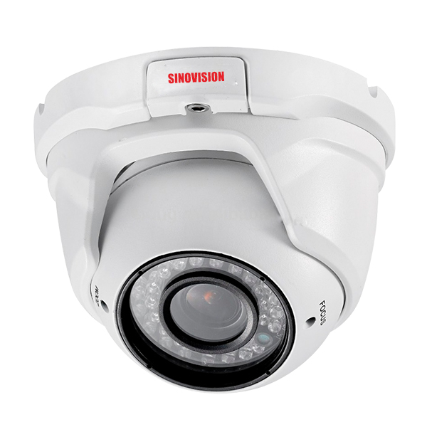 Sinovision 2.0MP Motorized Zoom Lens IP Dome Camera