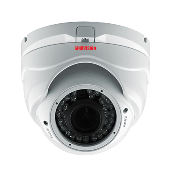 Sinovision HD 2.0MP Varifocal Lens Metal Dome Camera