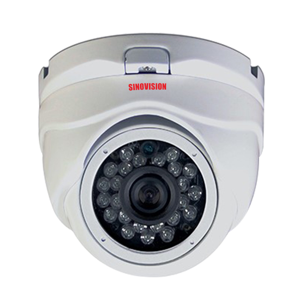 Sinovision HD 2.0MP Fixed Lens Metal Dome Camera