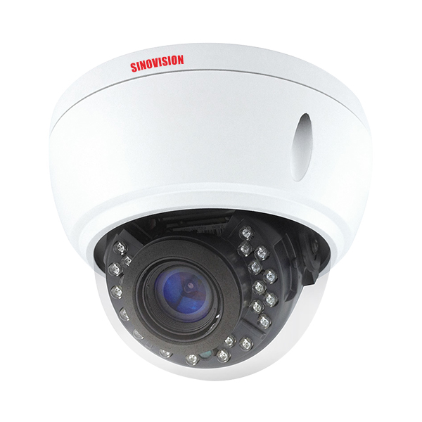 Sinovision 2.0MP Motorized Zoom Lens HD Dome Camera