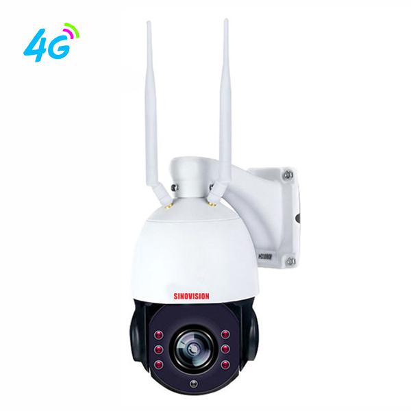 Sinovision 5x Optical Zoom 4G PTZ Camera