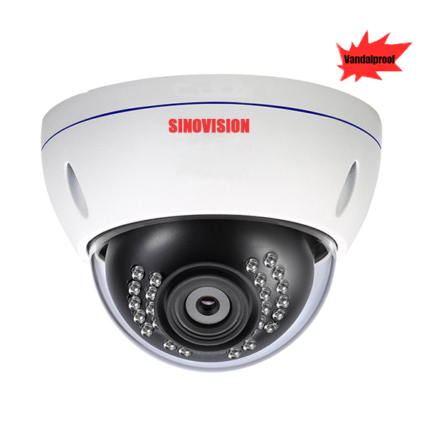 Sinovision AHD 8.0MP 4K Vandal Proof Varifocval Dome Camera