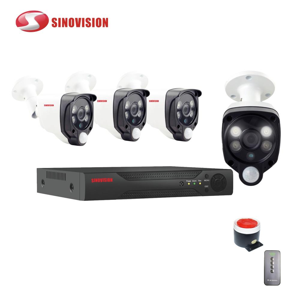 Sinovision 4CH 1080P PIR DVR KITS