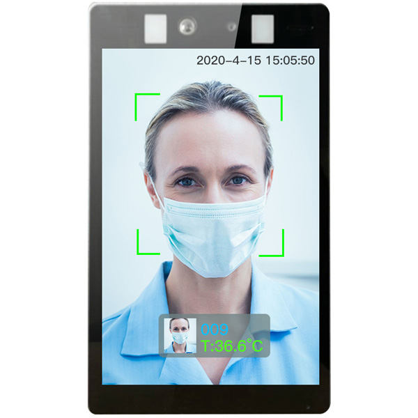 Face Recognition&Body Temperature Detection Smart Panel