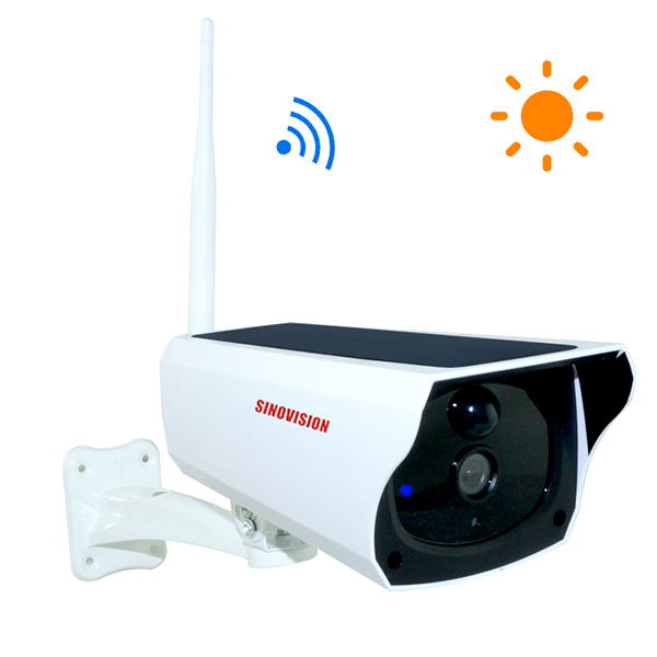 Sinovision Solar Power Low Consumption Battery Camera